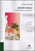 Antiche danze da «Antiche danze e arie per liuto». Ediz. italiana e inglese
