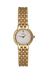 Seiko Women's Gold-tone I watch #SUJB32