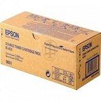 Epson Aculaser C 2900 N - Original Epson C13S050631 - Cartouche de Toner Noir - Double Pack - 2 x 3000 pages
