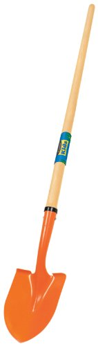 Truper 31339 Kids Garden Tools Round Point Shovel