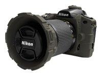 MADE Products CA-1111-SMK SLR Camera Armor for Nikon D80 Digital SLR (Smoke)