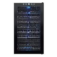 Vinotemp Wine Varietal 34-Bottle Wine Cooler, Black