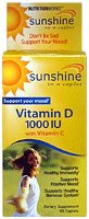 Windmill Health Products Sunshine Vitamin D -- 1000 Iu - 60 Caplets