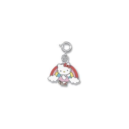 Licensed ?? Sanrio Hello Kitty Rainbow Cloud Charm with Austrian Crystals (222)