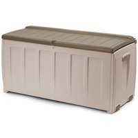 Keter Deck Box with Seat, 90-Gallon