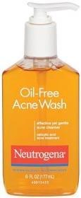 Neutrogena Oil-Free Acne Wash, 6 Ounce