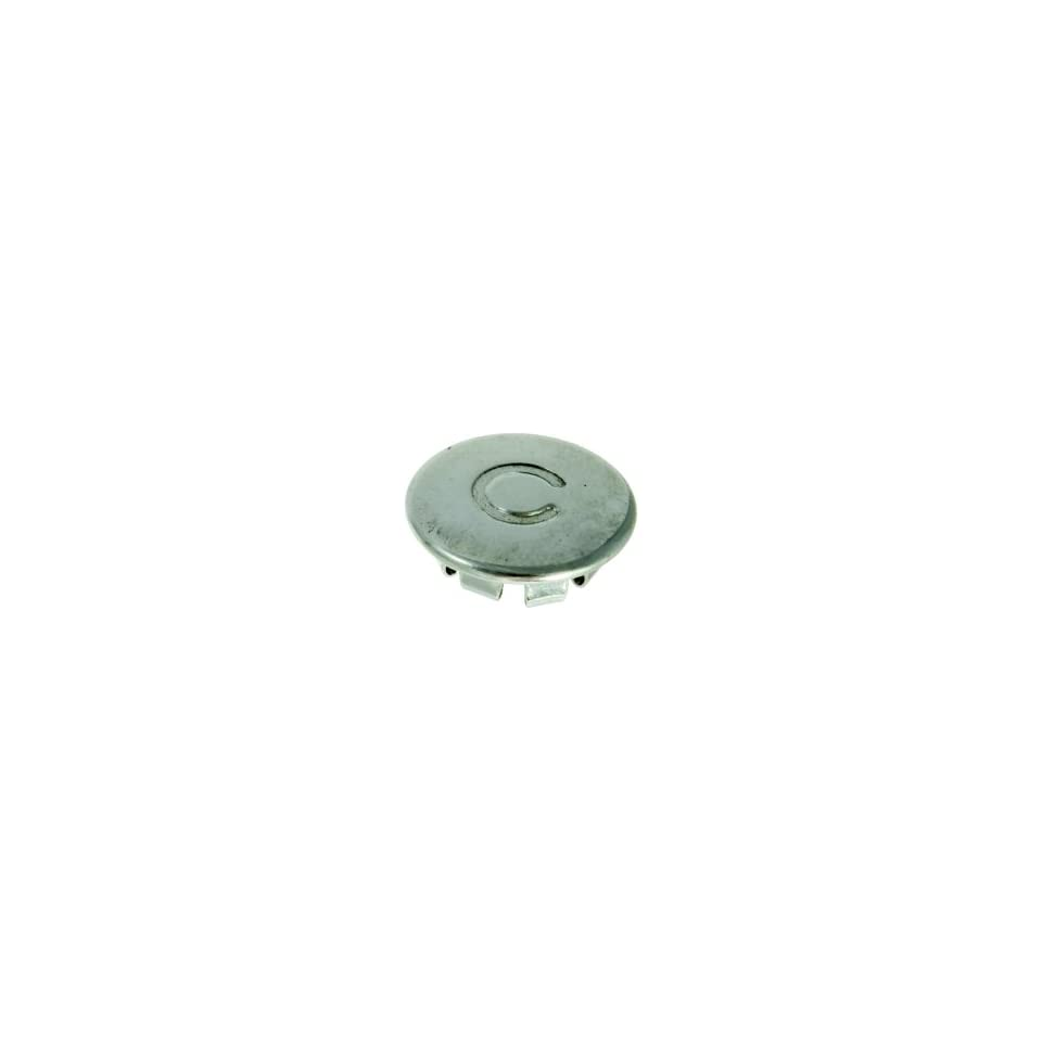 Metal Index Button   But. Index Cold, Pol Crm 997 027*   Price Pfister 92 2003C