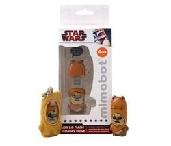 MIMOBOT Star Wars 2 GB USB 2.0 Flash Drive - Wicket by Mimoco