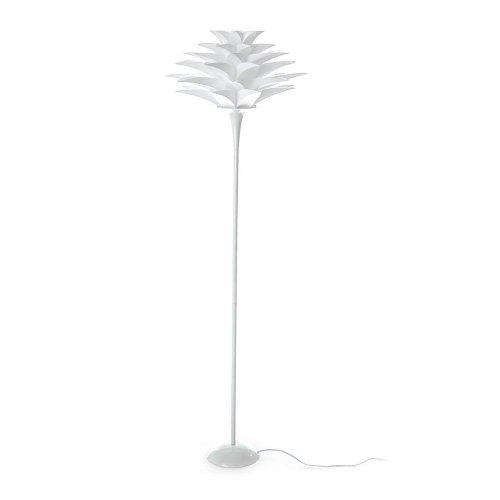 Tomasucci Petalo lampada da terra in polipropilene bianco