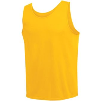 High Five Adult Pacer Athletic Gold Running Singlet - S