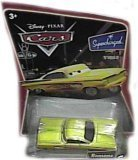 Yellow (Gold) Ramone Disney Cars Movie 1:55 Scale Supercharged Edition Mattel