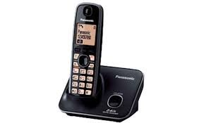 Panasonic KX-TG3711BX Cordless Phone (Black)