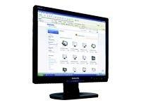 170S9FB/17  1280x1024 5ms Black DVI+VGA Philips Brilliance 170S9 - à‰cran plat - TFT - 17  - 1280...