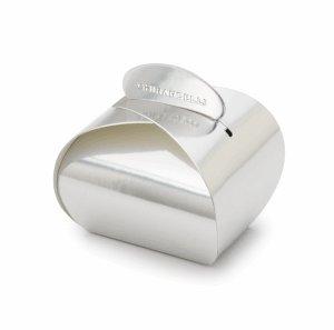 Ghirardelli Silver Origami Favor Box