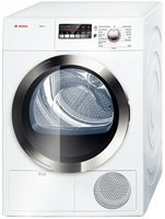 Bosch Wtb86202Uc Axxis 800 4.0 Cu. Ft. White Stackable Electric Dryer - Energy Star front-21009