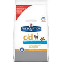 Hill's Prescription Diet C/d Multicare Feline With Ocean Fish (Dry)