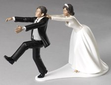 Funny wedding cake topper