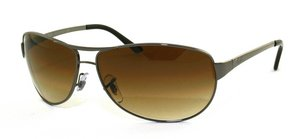 Ray Ban Warrior (RB3342) GunMetal/Crystal