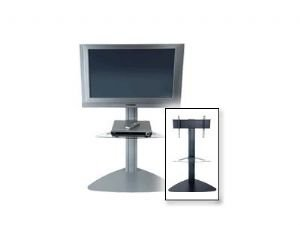 Cheap Flat Panel TV Floor Stand Silver (B004LCGDFY)