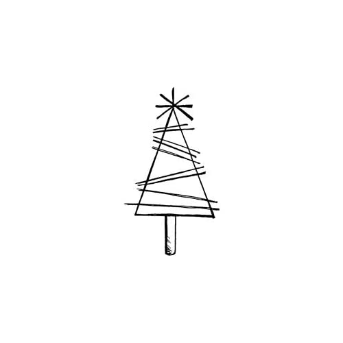 Penny Black Rubber Stamp 1.25X1.75 Little Tree; 3 Items/Order