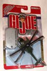GI Joe - Series 1 Die Cast Helicopter - Green MH-60K Night Hawk - 1
