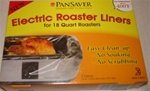PanSaver Electric Roaster Liners, Set of 2