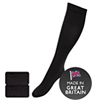2 Pairs of 40 Denier Freshfeet™ Medium Support Knee Highs