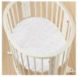 aden + anais Stokke Collection Mini Crib Sheet,Night Sky - 1