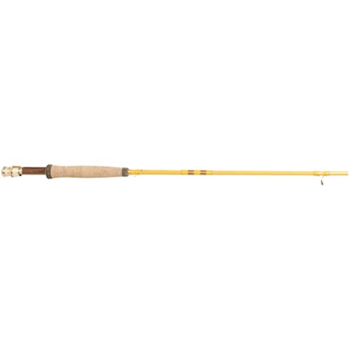 Eagle Claw Featherlight 5/6 Line Weight Fly Rod, 2 Piece (Yellow, 8-Feet)