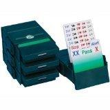Bridge Partner Bidding Boxes- Verde Oscuro
