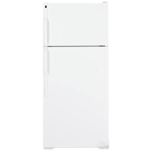 hotpoint hts17cbdww 16.6 cu. ft. white top freezer refrigerator
