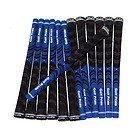 13 Piece Set - Golf Pride - New Decade Multi-Compound Midsize Grips Blue
