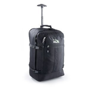 Cabin Max Flight Approved WORLDS LIGHTEST Carry on Trolley Backpack Bag