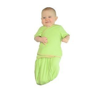 TrueWomb Arms-Free Weaning Swaddle Mint - Large