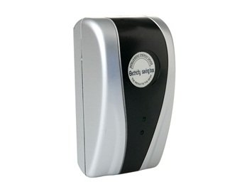 Power Saving Electricity Energy Saver Box Eu Plug (Silver) + Worldwide Free Shiping