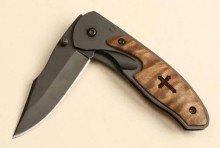 Knife-Black Blade w/Belt Clip (2 1/4 Blade)