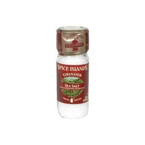 SPICE ISLANDS SEA SALT WITH GRINDER 2 OZ (Spice Islands Grinder compare prices)
