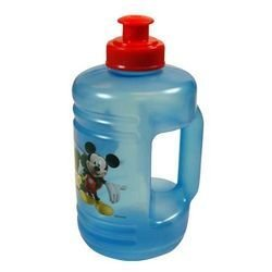 Mickey Clubhouse 16oz Blue Water Jub Pull Top Water Bottle