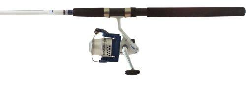 Okuma Fishing  TU-1002-80 Tundra Combo Spinning Reel (Large, White/Blue)