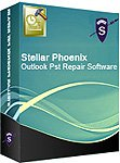 Stellar Phoenix Outlook PST Repair software- Repairs corrupted PST files of MS Outlook. Supports Outlook PST repair from MS outlook 2000,2003,2007,2010