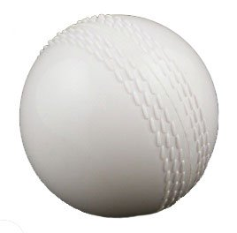 BULK BUY: 6 x Upfront Qvu WINDBALL Training Cricket Ball - White - ADULT