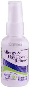 Allergy & Hay Fever Reliever, 2 fl oz (59 ml) by King Bio Homeopathic