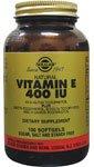 Solgar Vitamin E 268mg - Mixed Tocopherols - 100 x 400iu Softgels