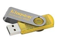 Kingston DataTraveler 101 Lecteur flash USB 2 Go 2 Go - Hi-Speed USB - jaune