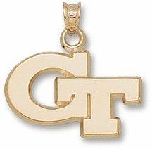 Georgia Tech GT 5 8 - 14K Gold by Logo Art