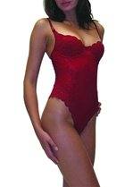 Arianne Jade Thong Teddy – Red – Small