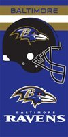 Case of 12 Baltimore Ravens Helmet Velour Towels 30 X 60 Inch at Amazon.com