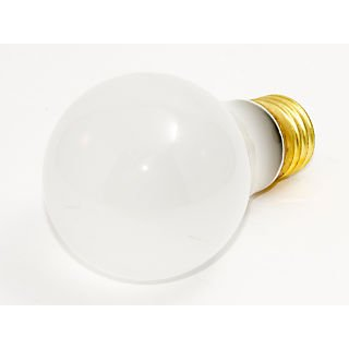 Bulbrite® 60 Watt 130 Volt A19 Rough Service Bulb; Frosted/Warm White, 12/Pack