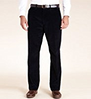 Big & Tall Blue Harbour Pure Cotton Corduroy Trousers