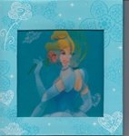 Disney Princess Holograph Photo Album Assorted Styles Cinderella or Aurora